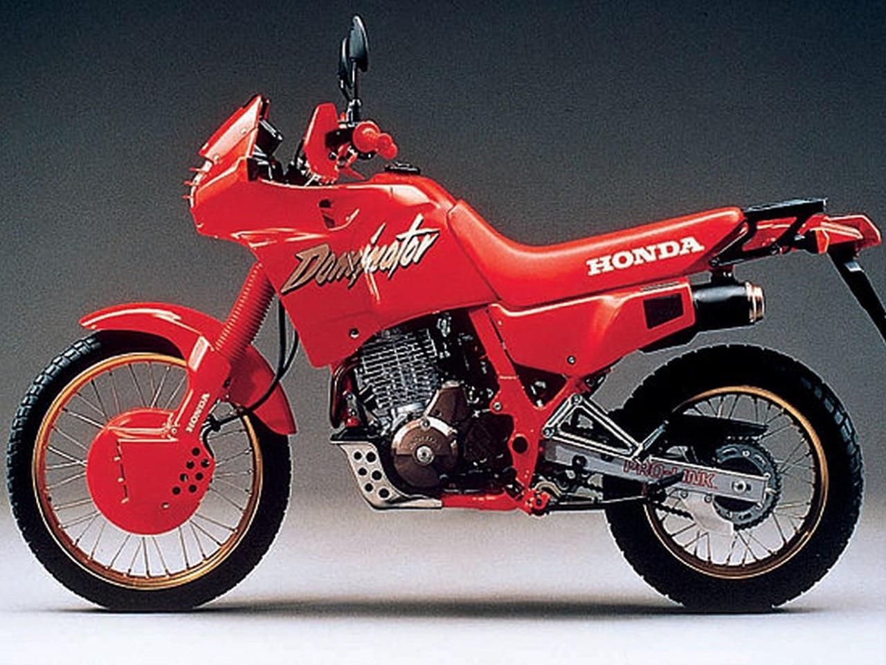Honda Nx 650 Dominator Storia E Pubblicit U00e0