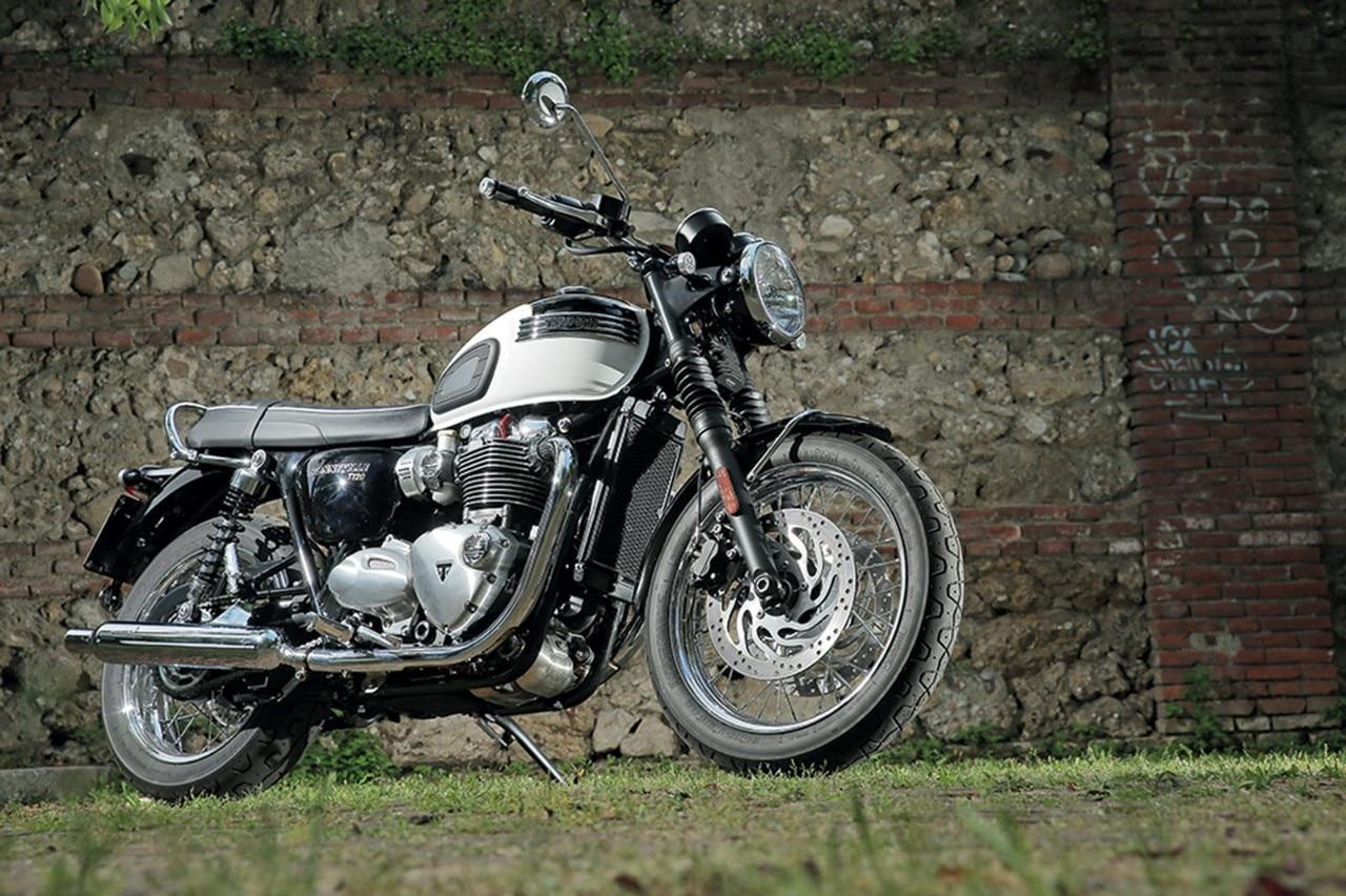 Triumph Bonneville T100 Prova Opinioni E Foto Dueruote