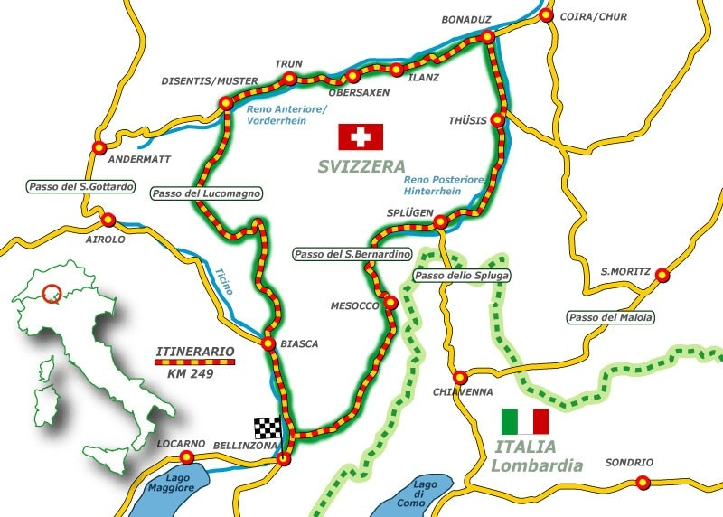 Germania Cartina Fiumi.La Dove Nasce Il Reno Dueruote