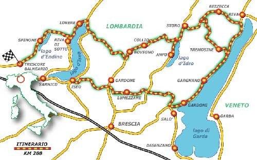 Cartina Lombardia Laghi.Lombardia Poker Di Laghi Dueruote