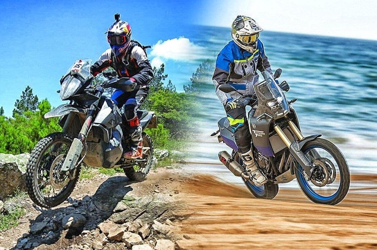 Ktm Adventure 790 Yamaha T 233 N 233 R 233 700 Sfida Al Vertice