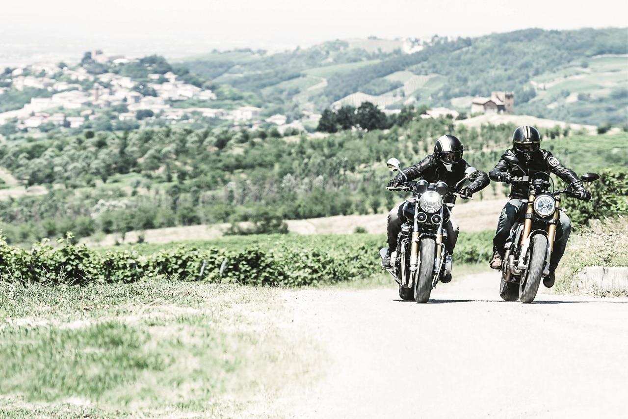 Ducati Scrambler 1100 Sport Honda Cb 1100 Abs Rs Prova