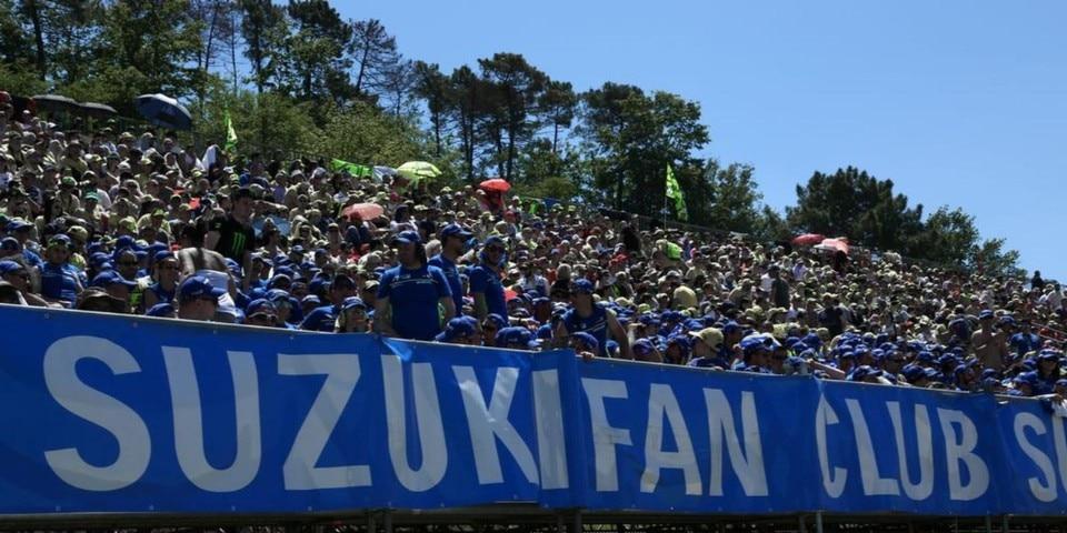 MotoGP: al Mugello torna la tribuna Suzuki