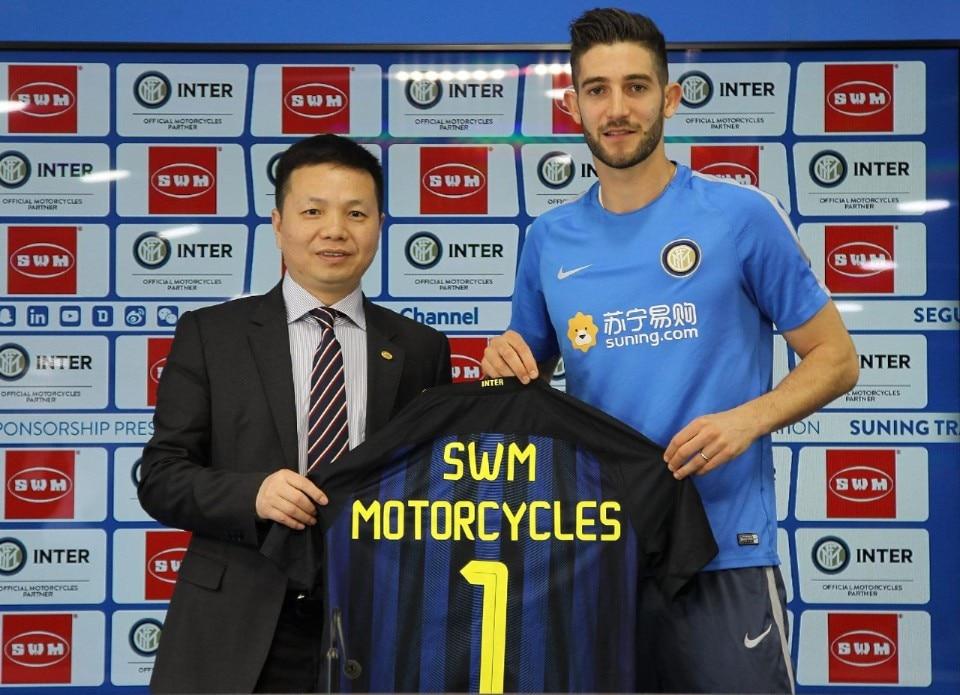 Calcio e moto: SWM diventa partner dell'Inter
