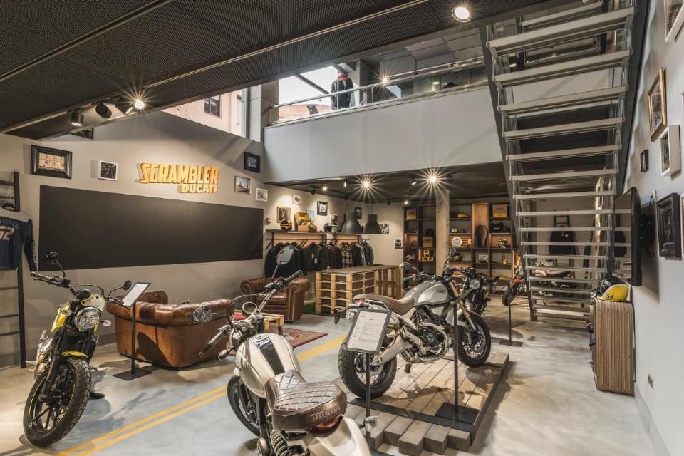 Ducati apre a Madrid il Flagship Store più grande in Spagna