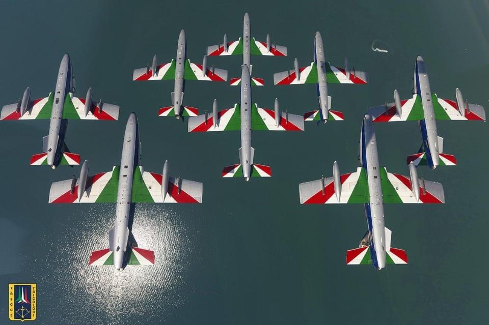 A Misano le Frecce Tricolori volano sulle Ducati