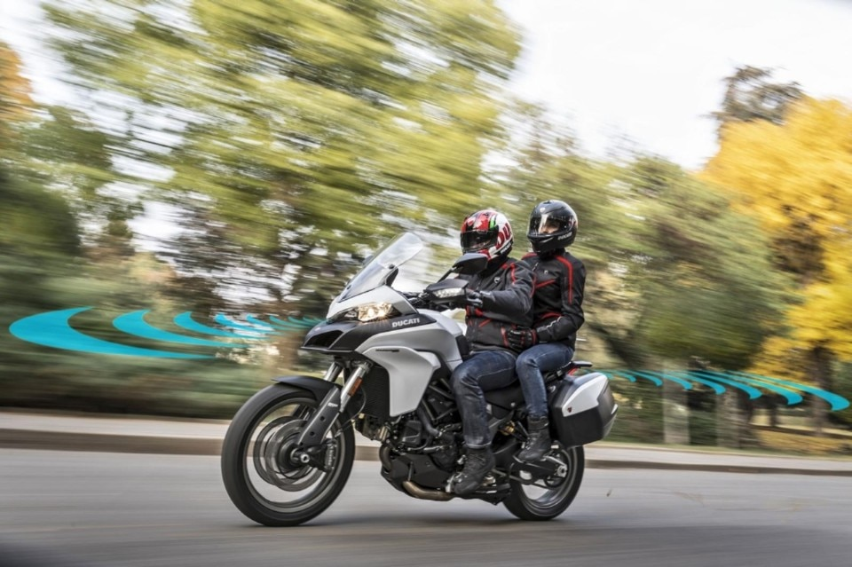 Ducati, nel 2020 arriva la moto col radar di bordo