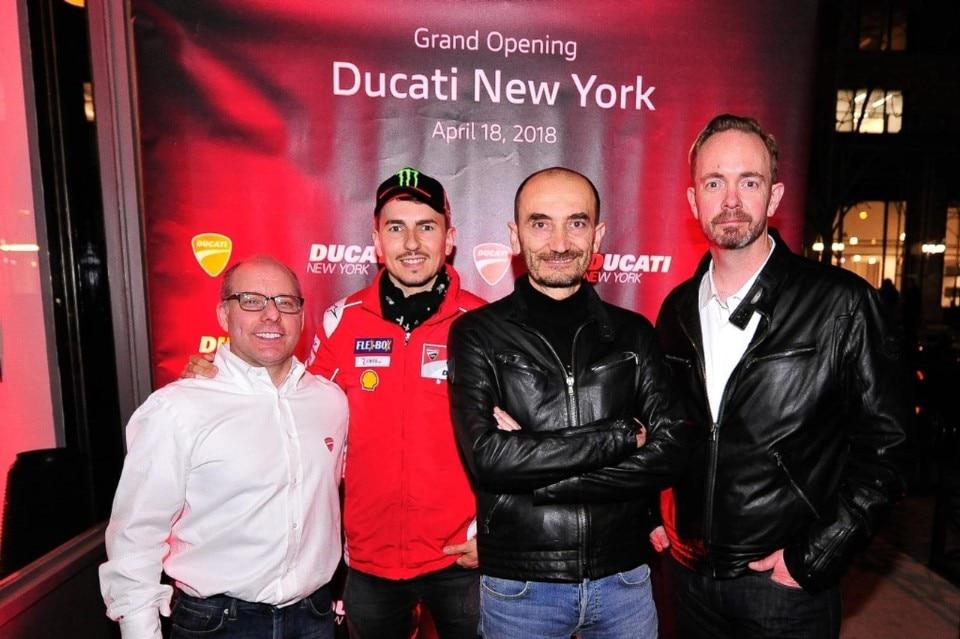 Ducati, un nuovo negozio a New York