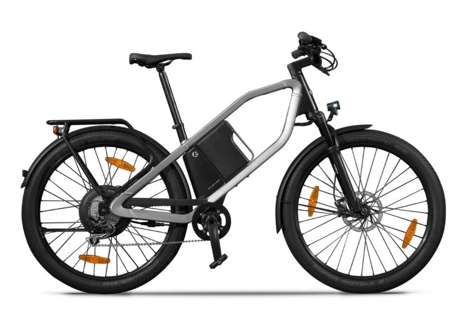 X Comfort, la bici elettrica di Kymco
