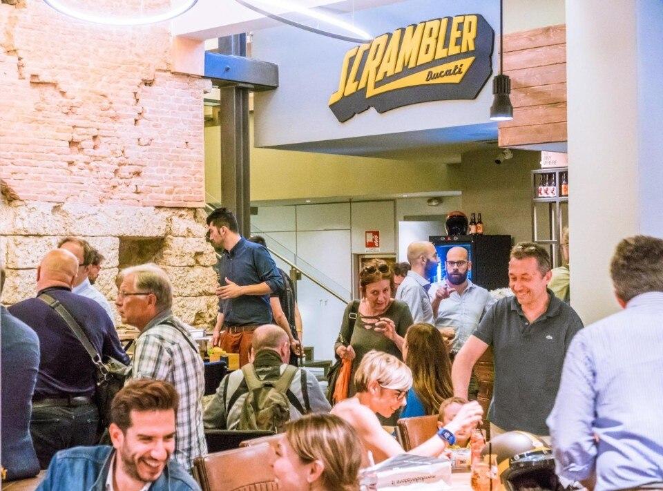 Scrambler Ducati Food Factory a Bologna