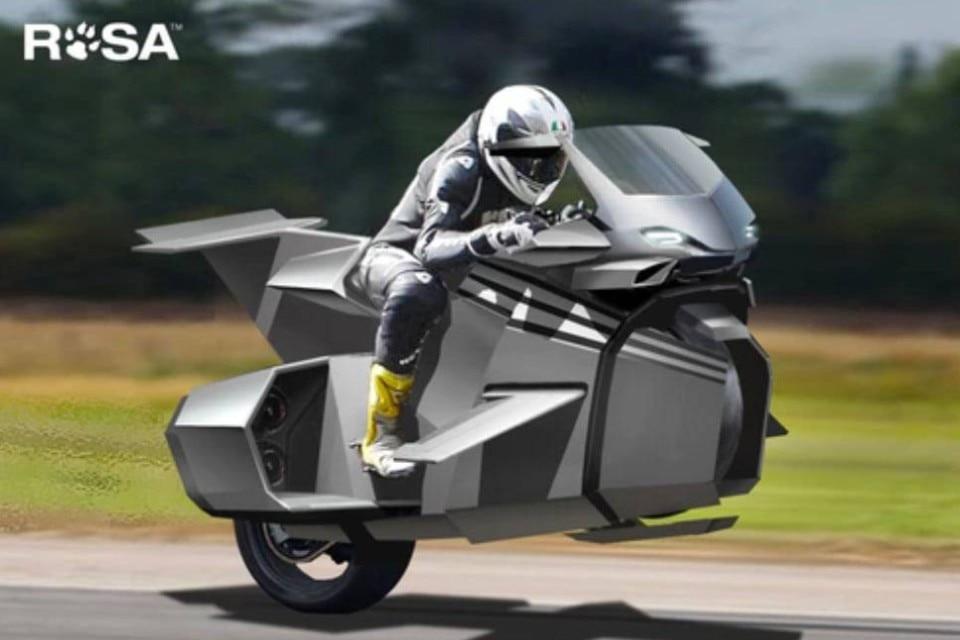 Kirby, la prima moto volante