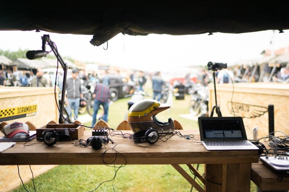 Radio Scrambler Ducati: non solo musica