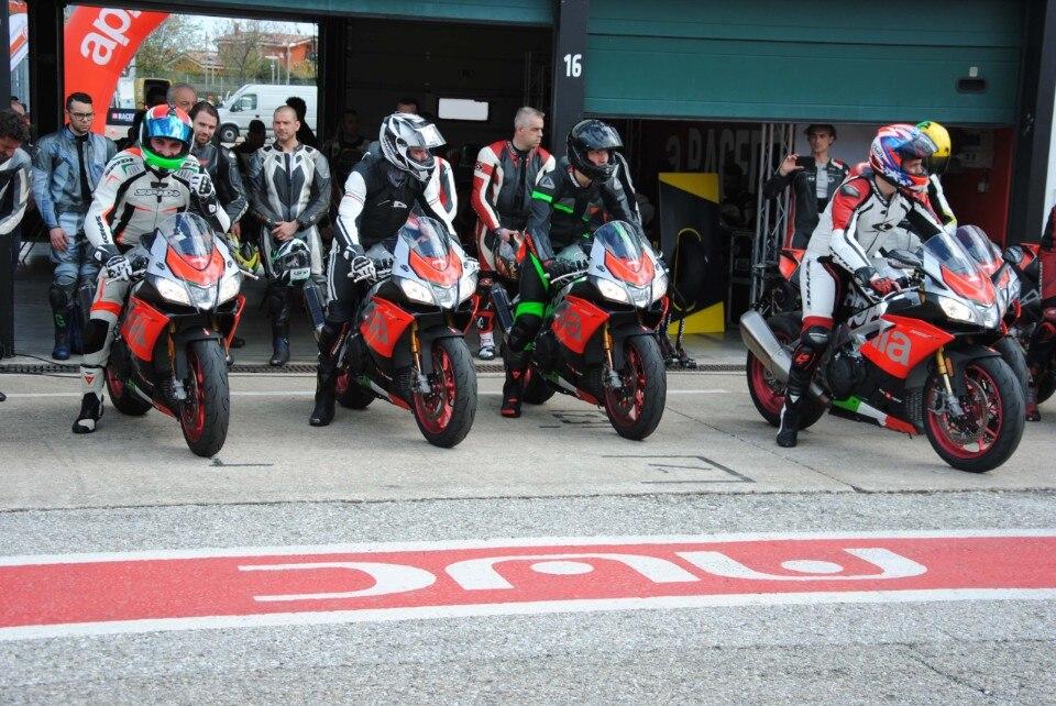 Racers Days: in pista con le Aprilia