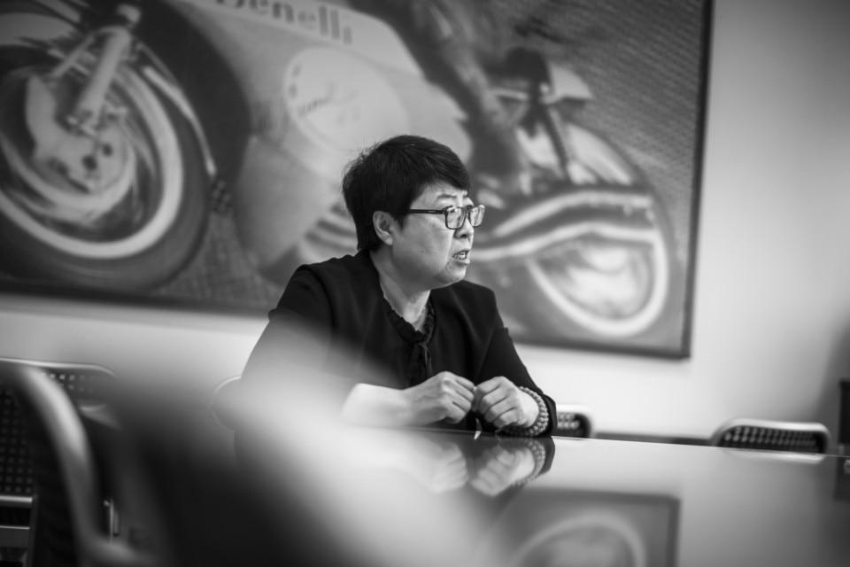 """Intervista a Yan Haimei (Benelli): """"Vi spiego il successo della TRK 502"""""""