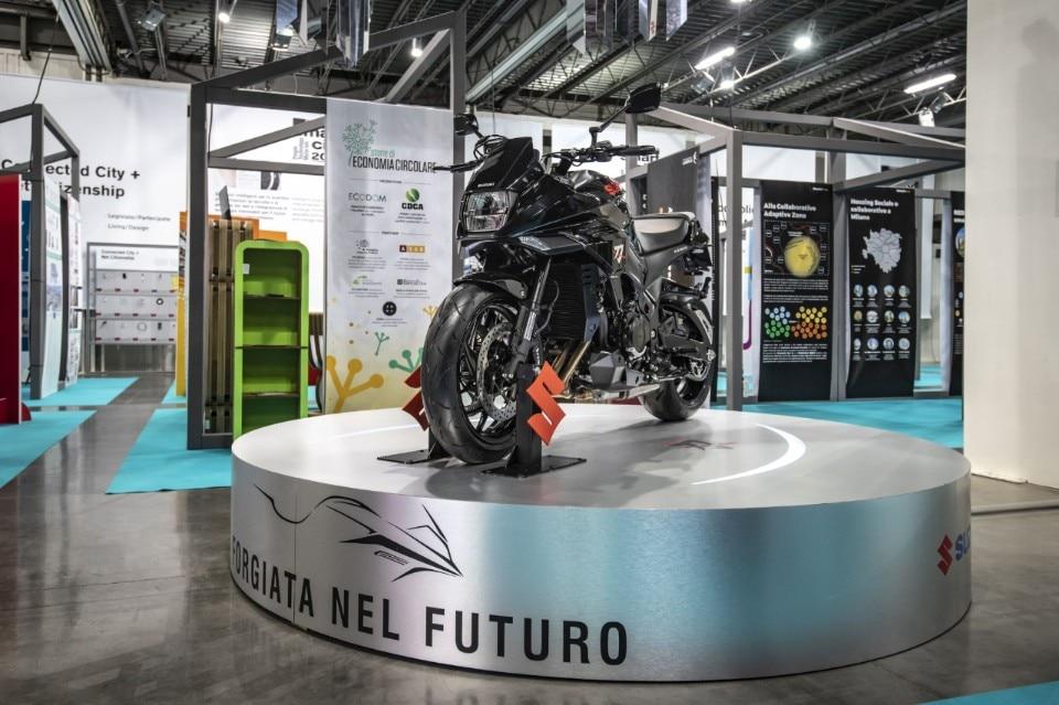 La Suzuki Katana regina della Milano Design Week
