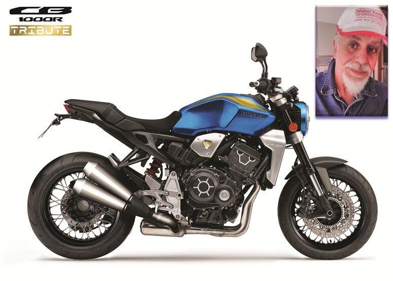 Honda CB1000R Tribute, una special pronta per viaggiare
