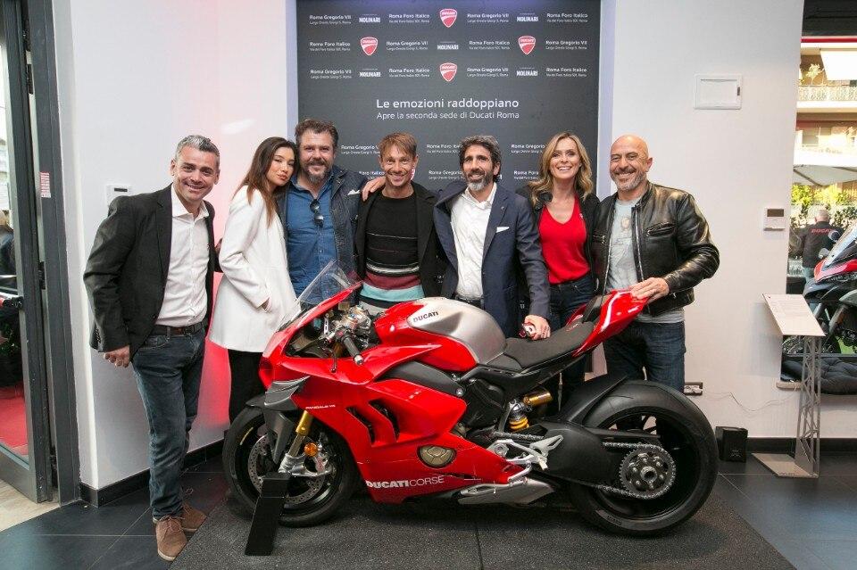 Ducati inaugura il secondo flagship-store a Roma