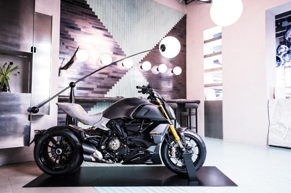 Ducati a Milano per il MOARD il salone dedicato al moto-design