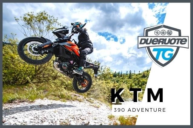 KTM 390 Adventure: piccola grande on-off