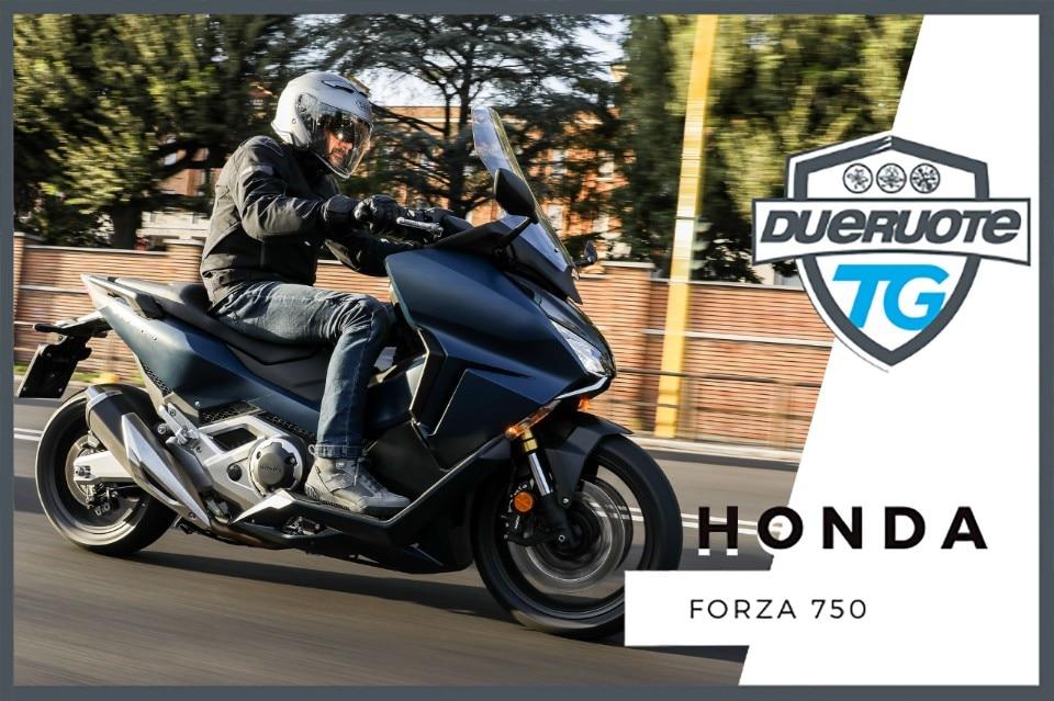 Honda Forza 750: maxiscooter al quadrato!