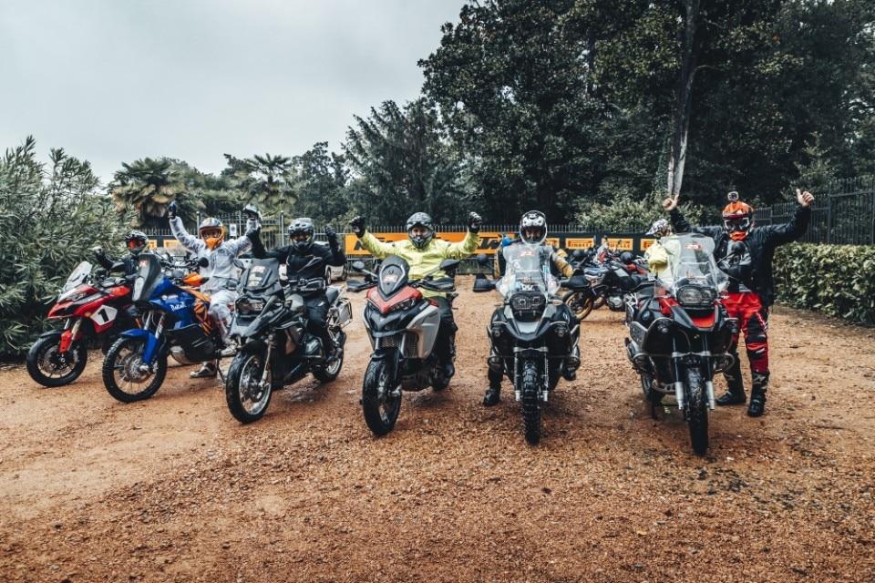 Ride Out Experience: sotto la pioggia con Pirelli e KTM