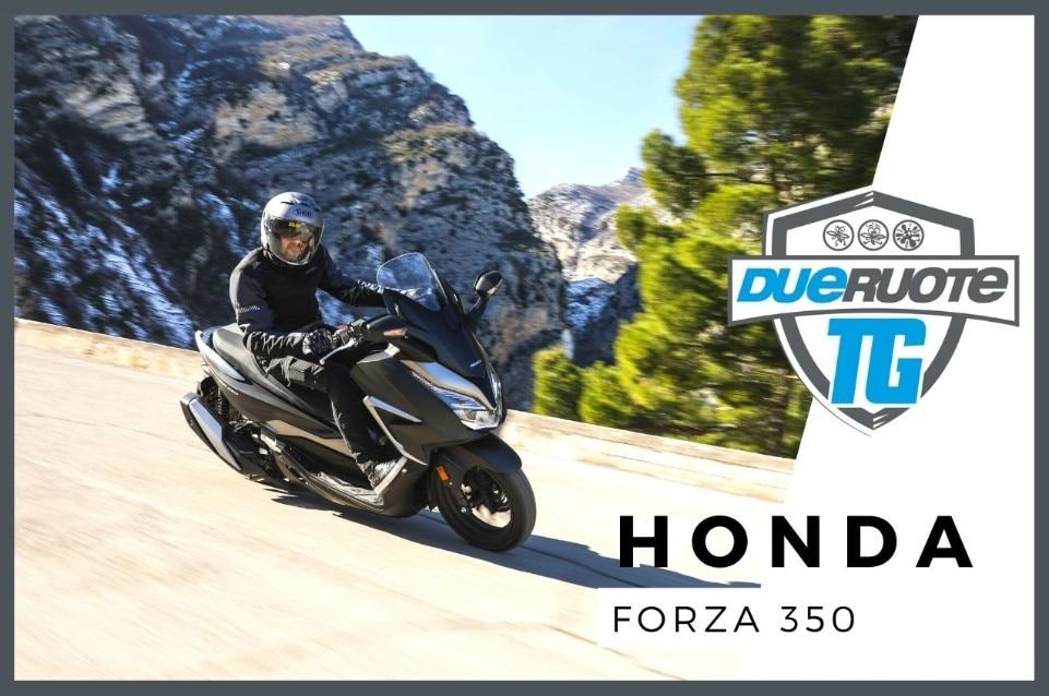 Honda Forza 350: top class (LA VIDEOPROVA!)