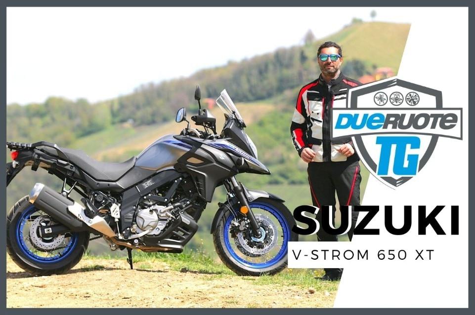 Suzuki V-Strom 650 XT: (la PROVA) del MY 2021!