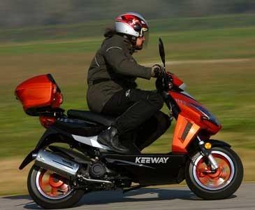 Keeway , scooter e custom ma low cost