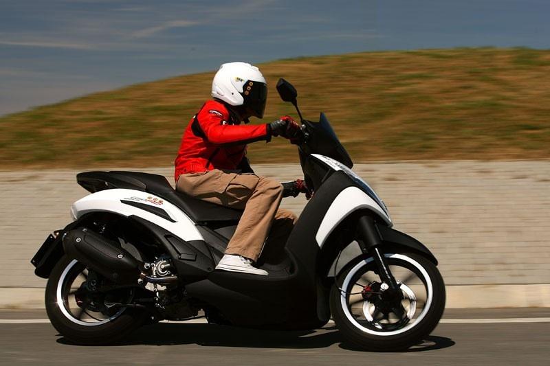 Peugeot Geo RS 250: vado in bianco