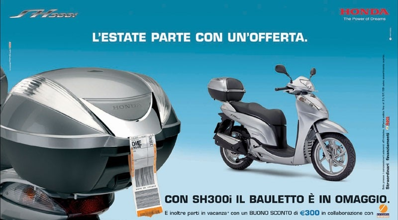 Honda Sh 300 I Prezzo Scheda Tecnica E Foto Dueruote