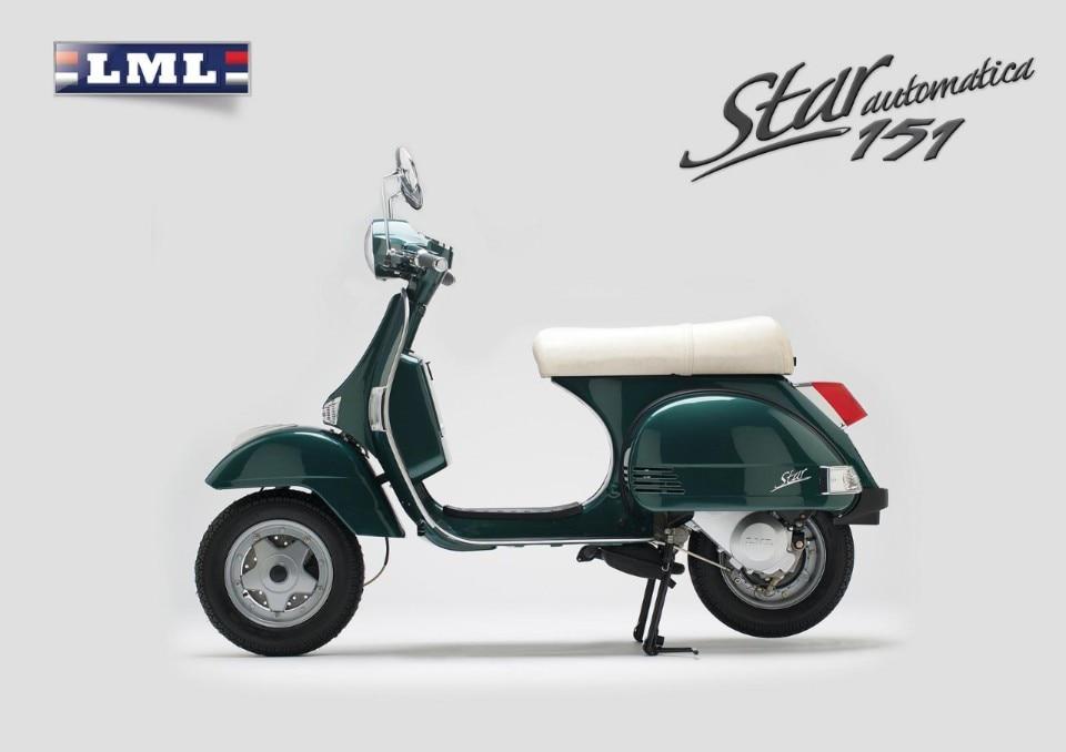 LML: arriva la nuova Star Automatica 4T da 151 cc