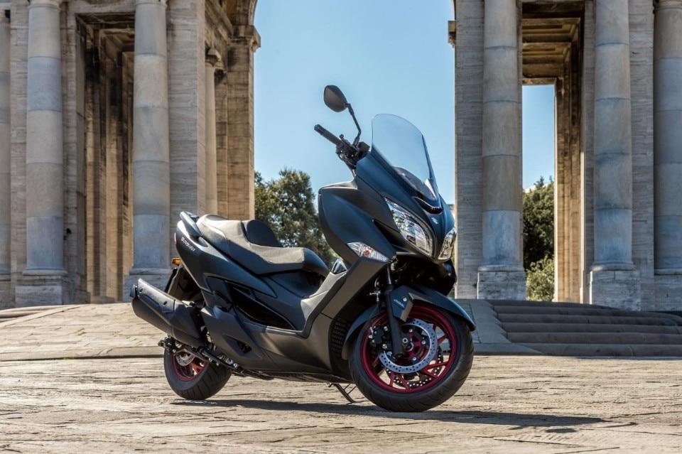 Il nuovo Burgman e le novità Suzuki a Motodays