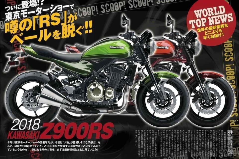Kawasaki, pronta una Z900 retrò