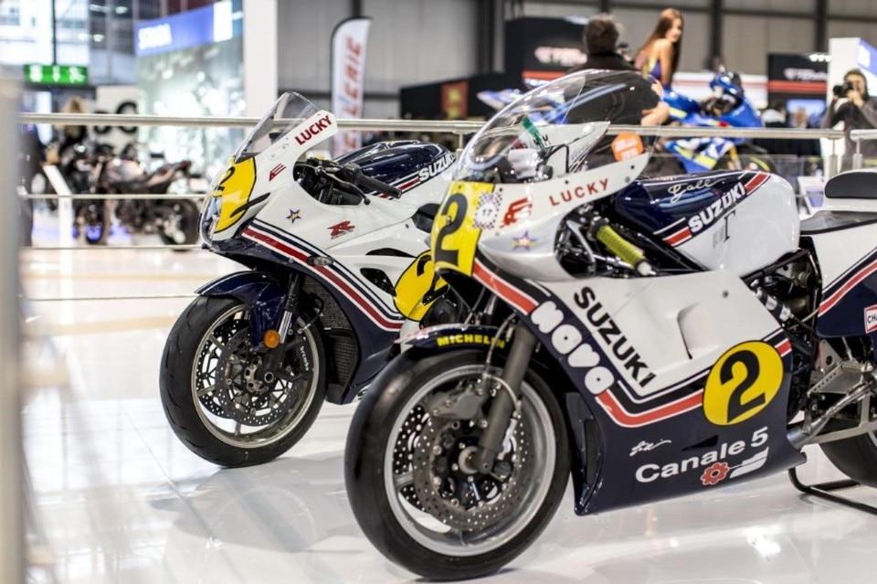 Suzuki fa rinascere la moto di Marco Lucchinelli