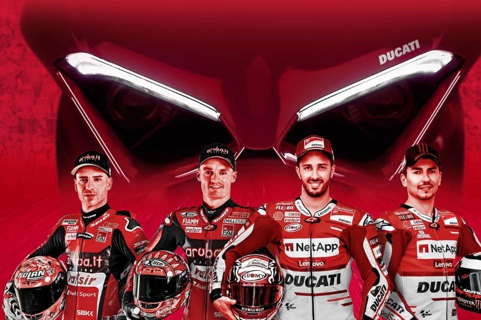 The Race of Champions: i piloti Ducati in gara con le Panigale V4 S