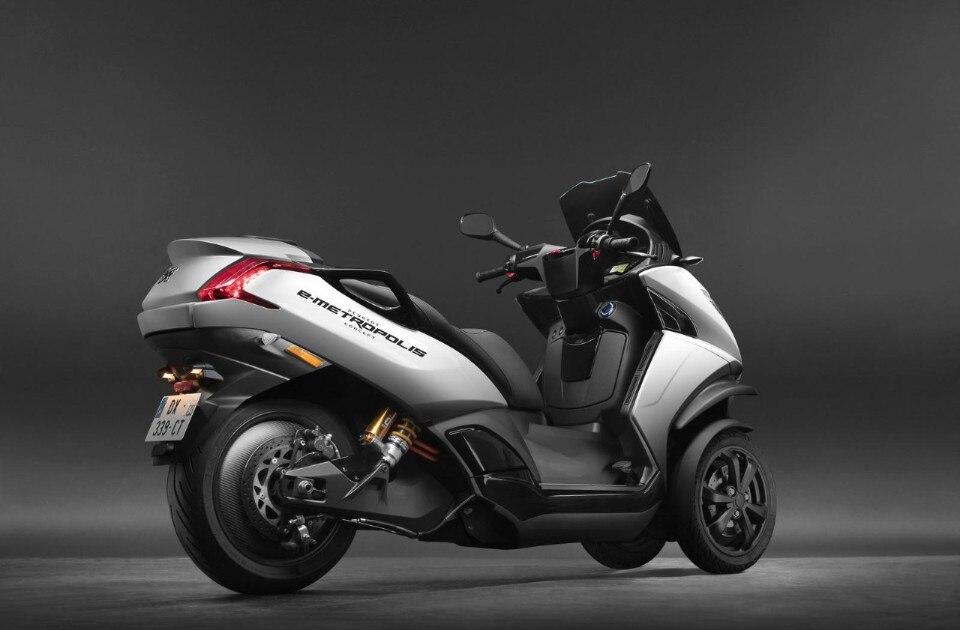 Peugeot e-Metropolis, il concept