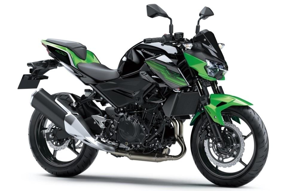 """Kawasaki Z400, la naked diventa """"media"""""""