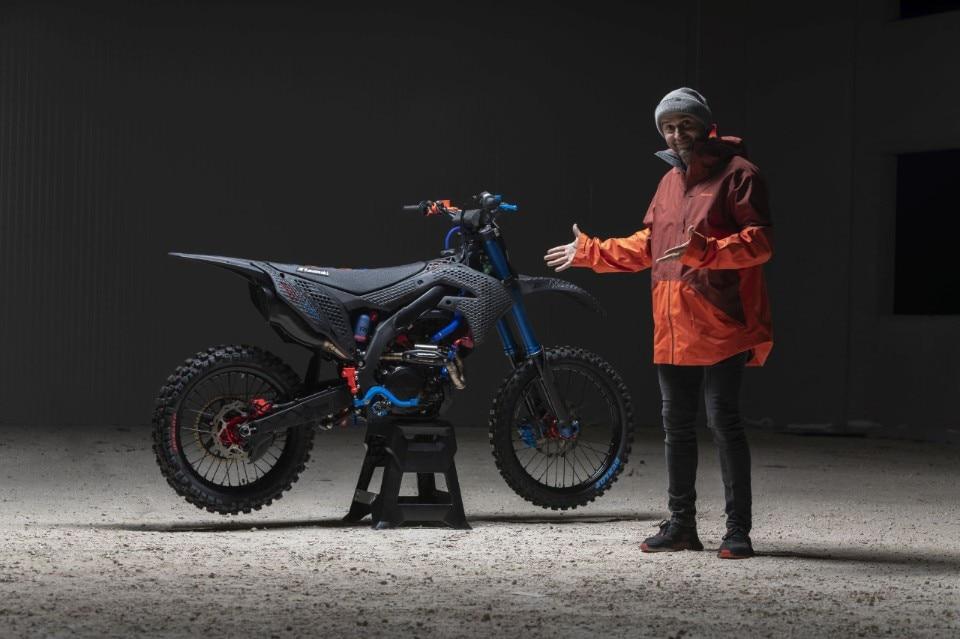 3D Core: Kawasaki KX 450 special by Dal Farra
