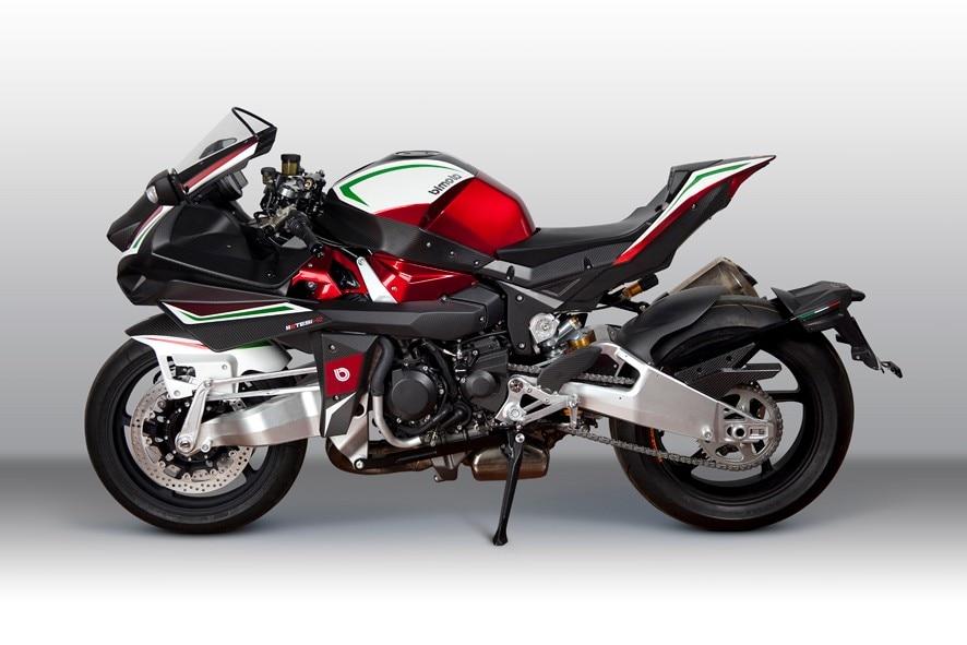 Bimota Tesi H2: una superbike da 64mila euro