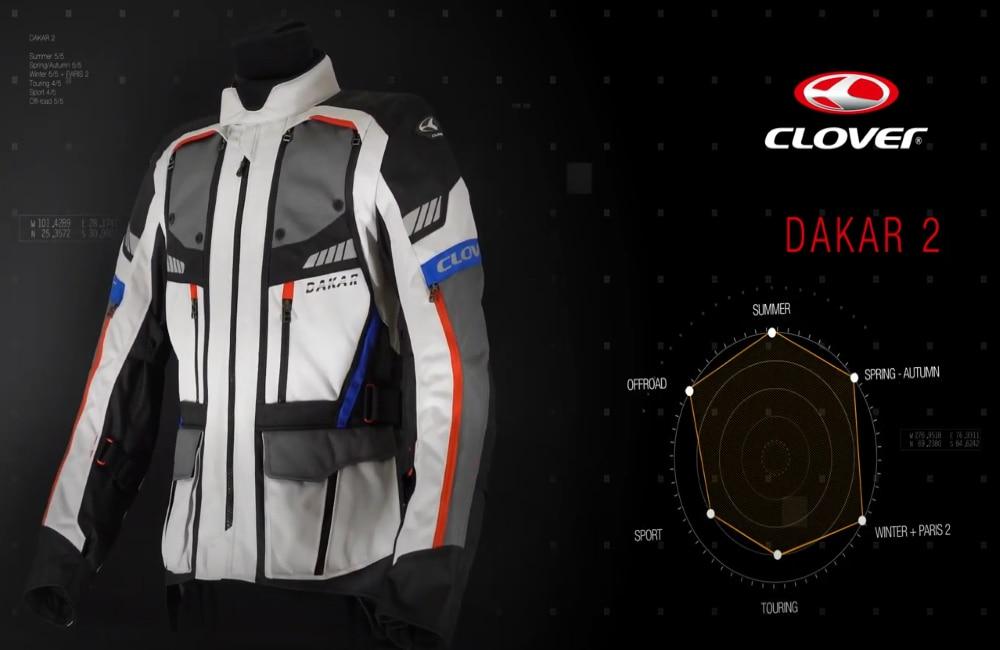 Clover Dakar-2 e Paris-2: protezione e comfort per tutte le stagioni