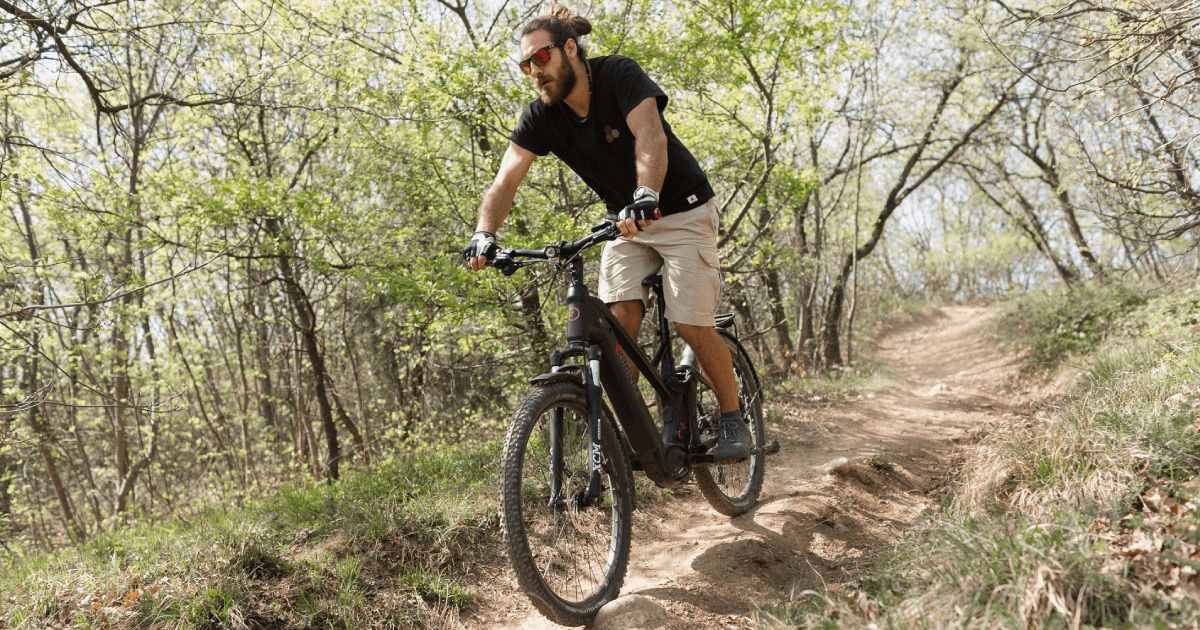 XPLORER, la Trekking ebike biammortizzata di Brinke